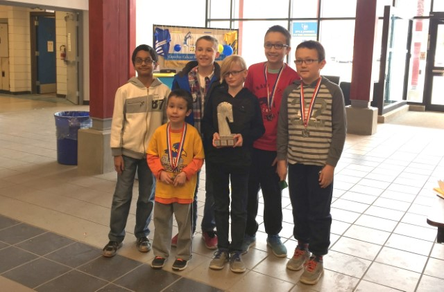 RLE Wins District Chess Championship!